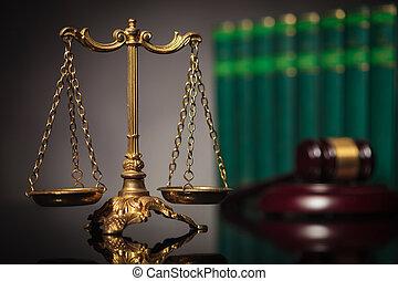 justice, concept, foire, droit & loi