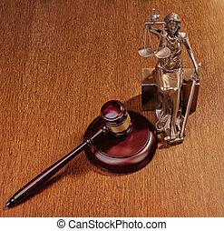 justice, concept, statue