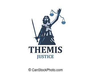 justice, déesse, themis.