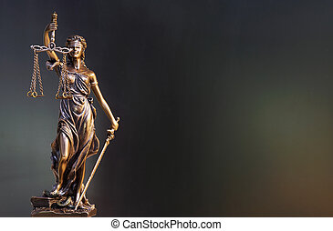justice dame, statue
