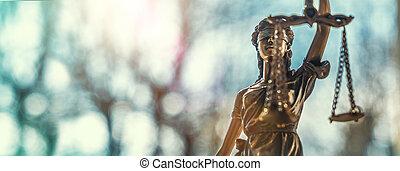 justice dame, statue