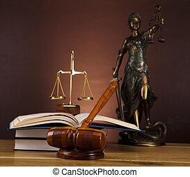 justice, droit & loi, concept
