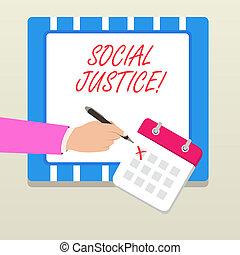 justice., fogalom, szó, vagyon, ügy, szöveg, előjogok, belül, egyenlő, írás, belépés, társadalmi, society.