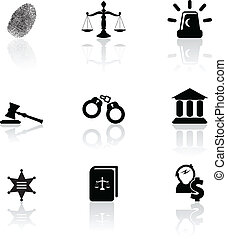 justice, icônes