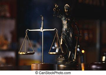 justice, justice, symbole, concept, droit & loi