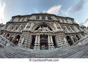 Justice Palace in Rome