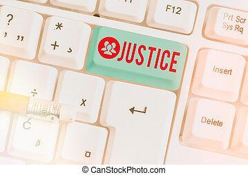 justice., space., soutien, au-dessus, nommé, droit & loi, blanc, vide, signification, foire, écriture, copie, pc, normes, concept, traitement, note, puissance, écriture, clavier, clã©, usage, papier, texte