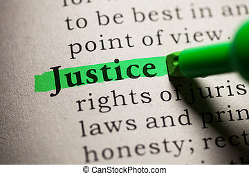justice - Fake Dictionary, definition of the word justice.