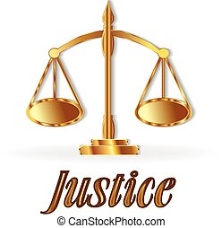 Justice symbol scale