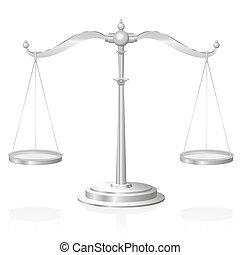 justice, symbole, échelle