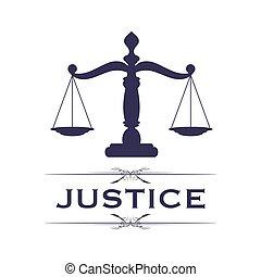 justice, symbole, balances
