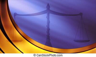 justice, toile de fond, balances