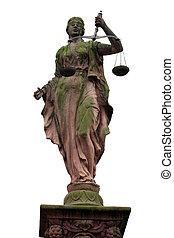 justicia, 1, dama