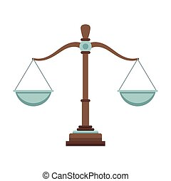 justicia, balance, caricatura
