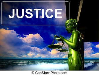 justicia, -, dama, tribunal, themis