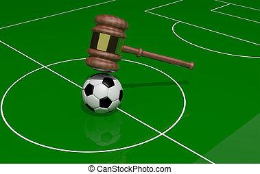 justicia, futbol
