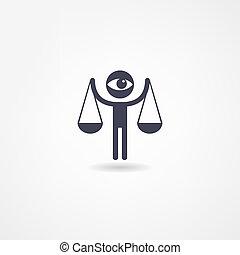 justicia, icono