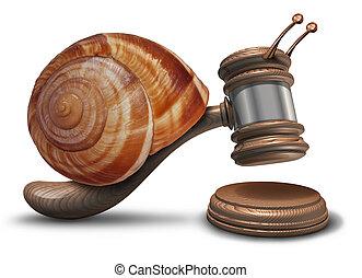 justicia, lento