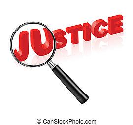 justicia, ley, y, orden