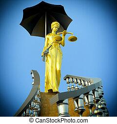 justicia, pasos
