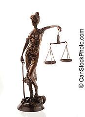 Justitia. Symbol of justice
