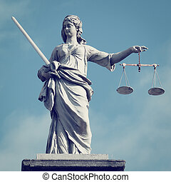 justitie, dame