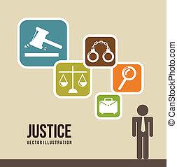 justitie, iconen