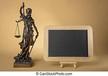 justizia, figure, tableau