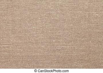jute, arrière-plan brun, tissu, texture