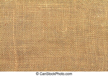 Jute - Background texture of an ancient brown jute material.