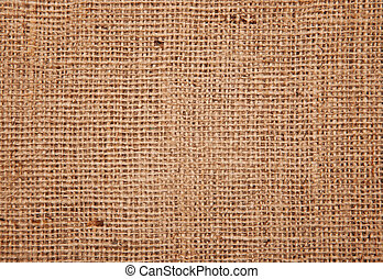 Jute background texture.
