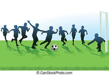 juventude, futebol