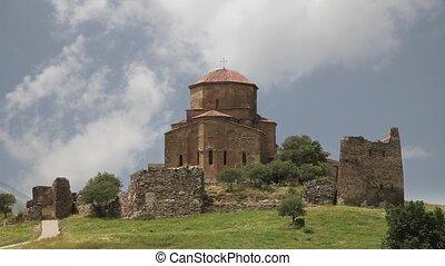 Jvari Monastery. Mtskheta, Georgia - Jvari Monastery...