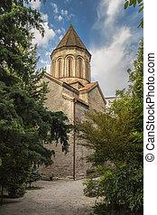 Jvaris Mama church in Tbilisi Old Town