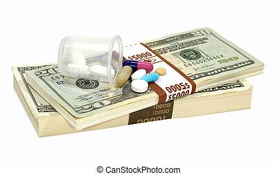 kábítószer, kiadások