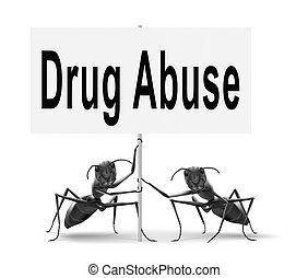 kábítószer túlkapás