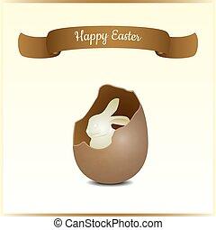 kártya, húsvét, köszönés, tehetség, minimalistic