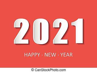 kártya, mód, illustration., felhívások, köszönés, banners., kártya, boldog, évszaki, új, 2021, ünnep, év, themed, dolgozat, vektor, -e, repülők, karácsony, köszöntések
