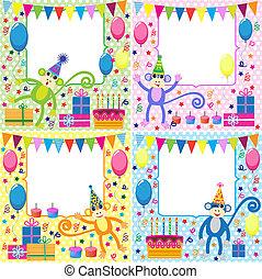 kártya, születésnap