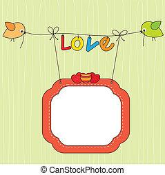 kártya, szerelmes pár