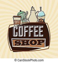 kávécserje bevásárlás
