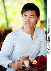 kávécserje, birtoklás, ember