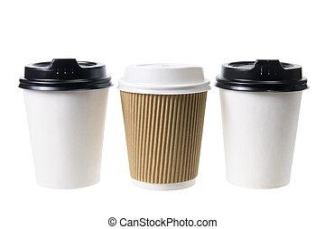 kávécserje csésze, takeaway