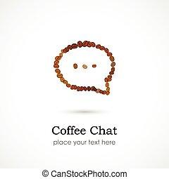 kávécserje, csevegés