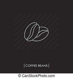 kávécserje fej, áttekintés, ikon