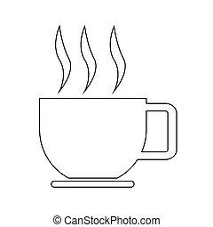 kávécserje, ikon