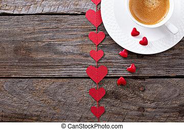 kávécserje,  valentines, Nap