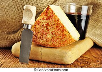 kã¤se, pecorino, typisch, italienesche