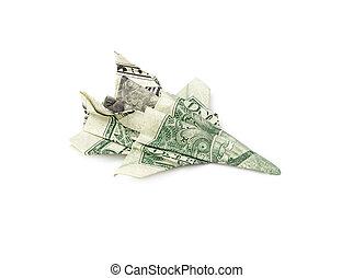 Origami F15 Eagle Jet Fighter Flugzeug Stockfoto und mehr Bilder ... | 194x241
