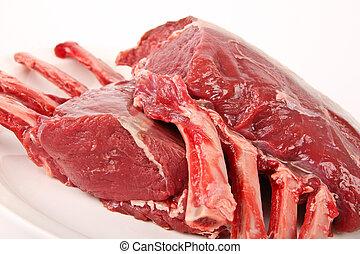 kär, kött